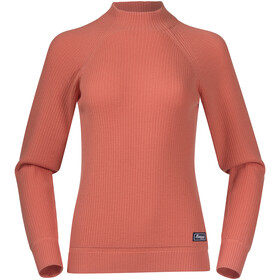Bergans Solli Wool Sweater Women, cantaloupe